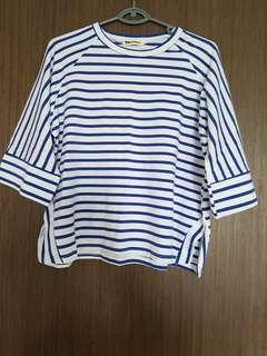 Brand new stripes top