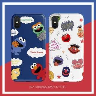 Sesame Street Elmo Monster iPhone Casing Case