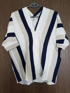 Brand new Stripe Blouse