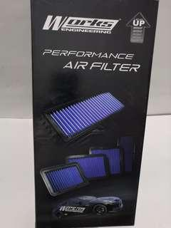 Works Engineering Air Filter Perodua Axia