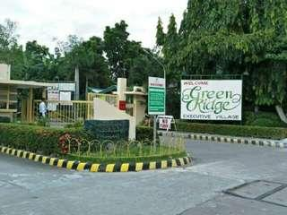 Ready for housing residential lots for sale in Greenridge Executive Village, Binangonan, Rizal