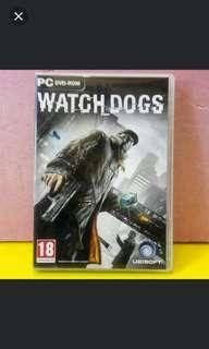 PC.DVD,WATCH.DOGS,3碟有側纸