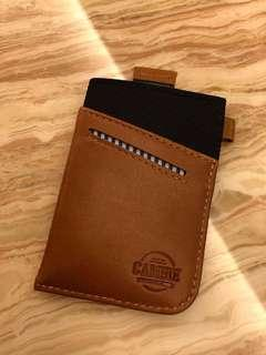 CAMBIE WOLYT Sleeve Wallet (Brown/Black)