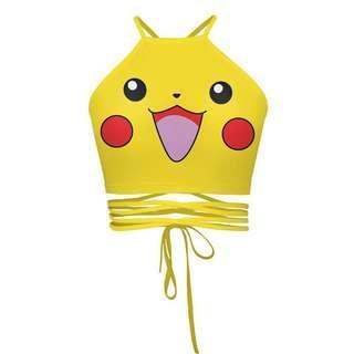 • Preorder • Tumblr Pokemon Pikachu Crop Top