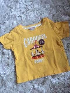 Carousel poney