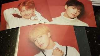 WTS: BTS x Shibuya 109 Popup Store Postcard