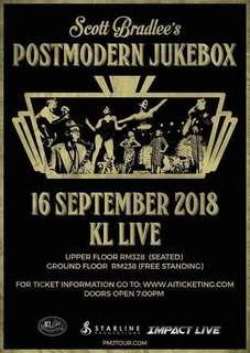 Postmodern Jukebox VIP Ticket + Meet&Greet