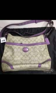 Coach Reversible handbag/Sling Bag