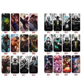 300+ Design Art League of Legends iPhone Mobile Phone Case