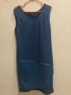 Mateix Dress Biru