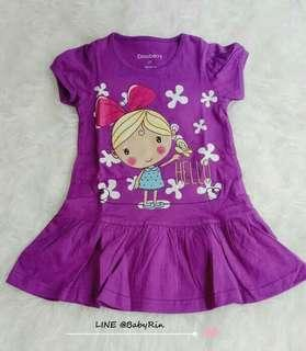 Dress anak dinoberry hello