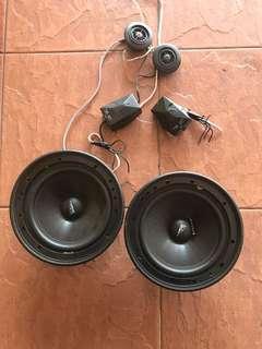 Set speaker pintu kereta
