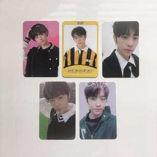 [wts] the boyz sunwoo photocards