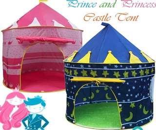 Prince/princess castle tent