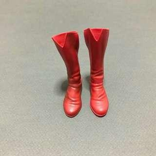 1/6 scale sideshow superman red boots