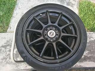 16' rims with tyre