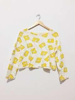 T-shirt crop the simpson #MauiPhoneX
