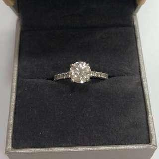 1.3 Carat GIA Customized Diamond Ring