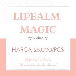 (NEW) LIPBALM MAGIC BY CILOBEAUTY