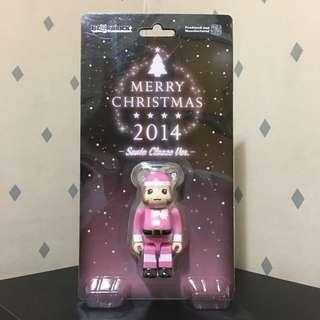 Bearbrick 100% Merry Christmas 聖誕節 2014 Bear Be@rbrick Toy Figure Art Brand Design Rabbrick R@bbrick Nyabrick Ny@brick 模型 擺設 收藏品 名牌 玩具 禮物 生日禮物