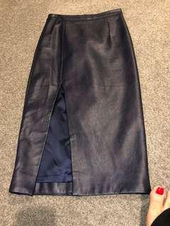 Bardot PVU ( Faux Leather) Pencil Skirt