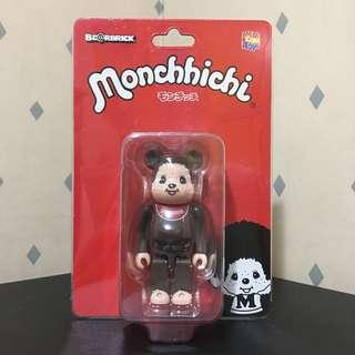 Bearbrick 100% Monchhichi 夢奇奇 Bear Be@rbrick Toy Figure Art Brand Design Rabbrick R@bbrick Nyabrick Ny@brick 模型 擺設 收藏品 名牌 玩具 禮物 生日禮物