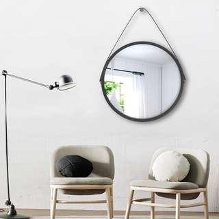 Round Metal-framed Hanging Decorative Mirror New design