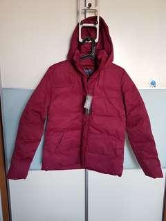 Coldwear Down Jacket with Trench Coat