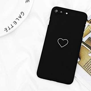 • Preorder • Tumblr Heart Black iPhone Casing