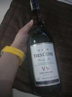 Tres Cepas Brandy de Jerex