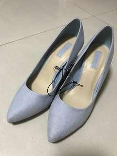 FOREVER21 Blue high heels shoes
