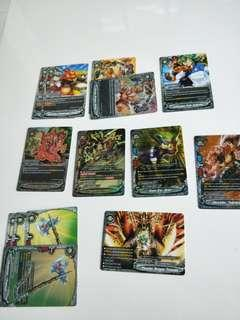 Buddyfight-Link dragon order set