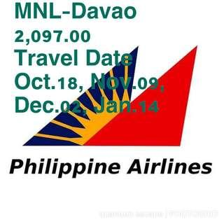 Flight MNL-Davao