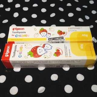 Buy 1 Take 1 Pigeon Toothpaste for Children (Strawberry Flavor)