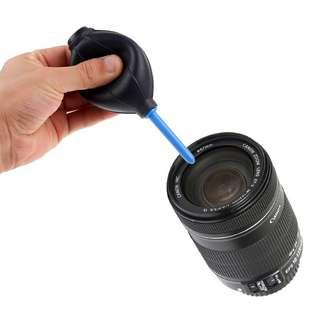 Camera Lens Black Rubber Air Blower Pump Dust Cleaner For Camera CMOS Lens Keyboard Laptop (Large)