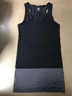 2 x Nike Women's fitted Dress (Tight Fitted) 女裝運動貼身裙