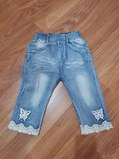 Jeans anak (sedengkul)