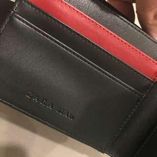 Zara Men's Bifold Leather Wallet||Brand New