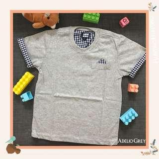 Adelio Basic Tee Shirt/ kaos anak lucu
