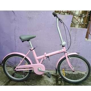 HIPHOP FOLDING BIKE (FREE DELIVERY AND NEGOTIABLE!)