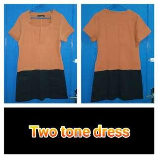 [Nego/barter] Two tone dress