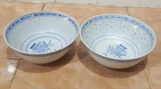 antique oriental rice grain bowl 2