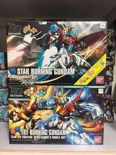 HGBF Try + Star Burning