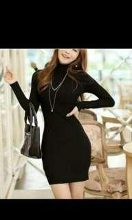 Dress turtleneck dress murah dress rajut