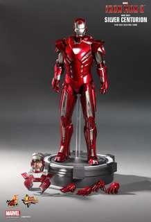 Hottoys Iron Man 3 - Silver Centurion (Mark XXXIII)  MMS 213