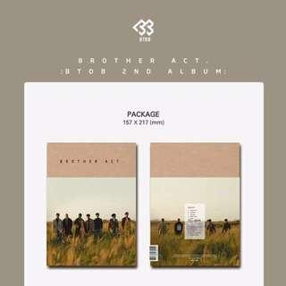 BTOB BROTHER ACT [2ND STUDIO ALBUM]