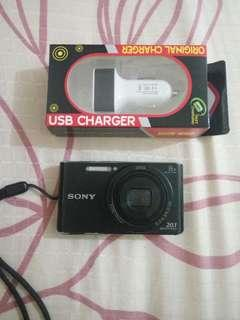 Kamera digital Sony 20,1 MP, free USB Charger