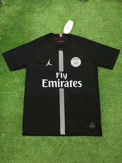 PSG Nike Jordan black jersey collection!!
