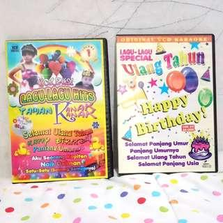 2 VCD Lagu Ulang Tahun