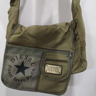 """Knockoff Diesel sling bag 13"""" #Midsep50"""